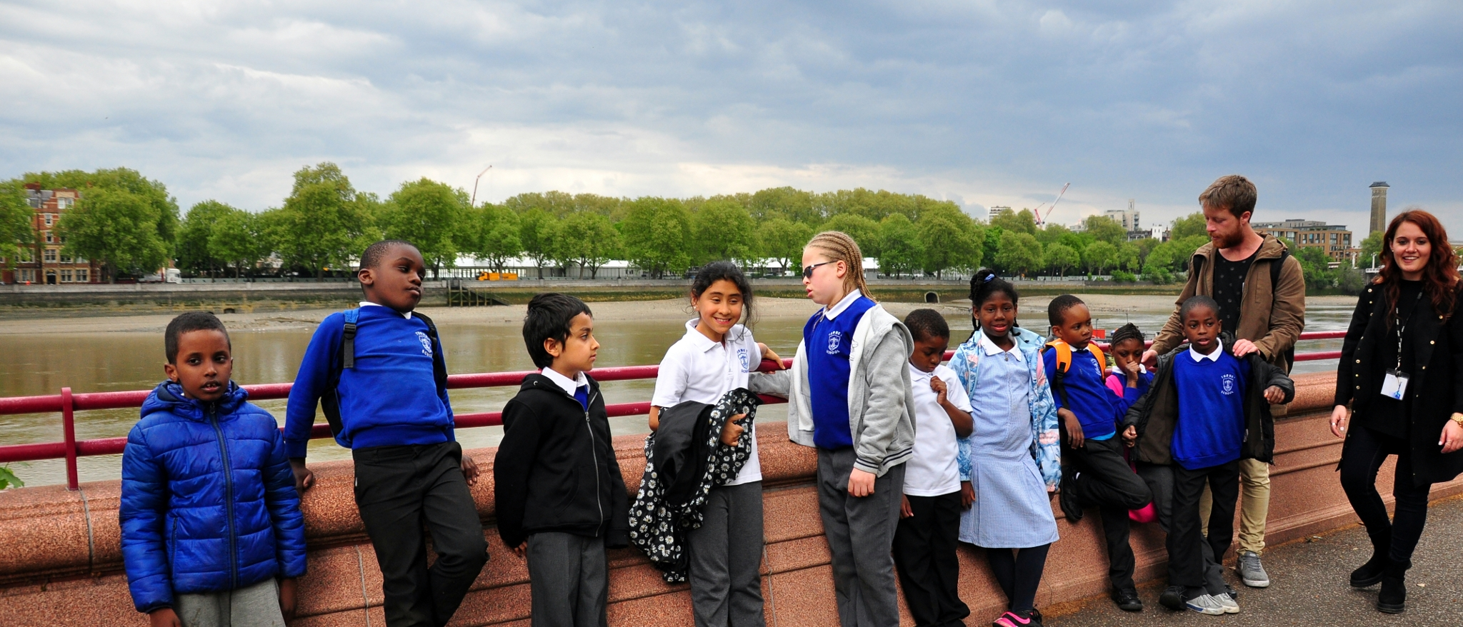 Lime and Blue Class in Battersea Park