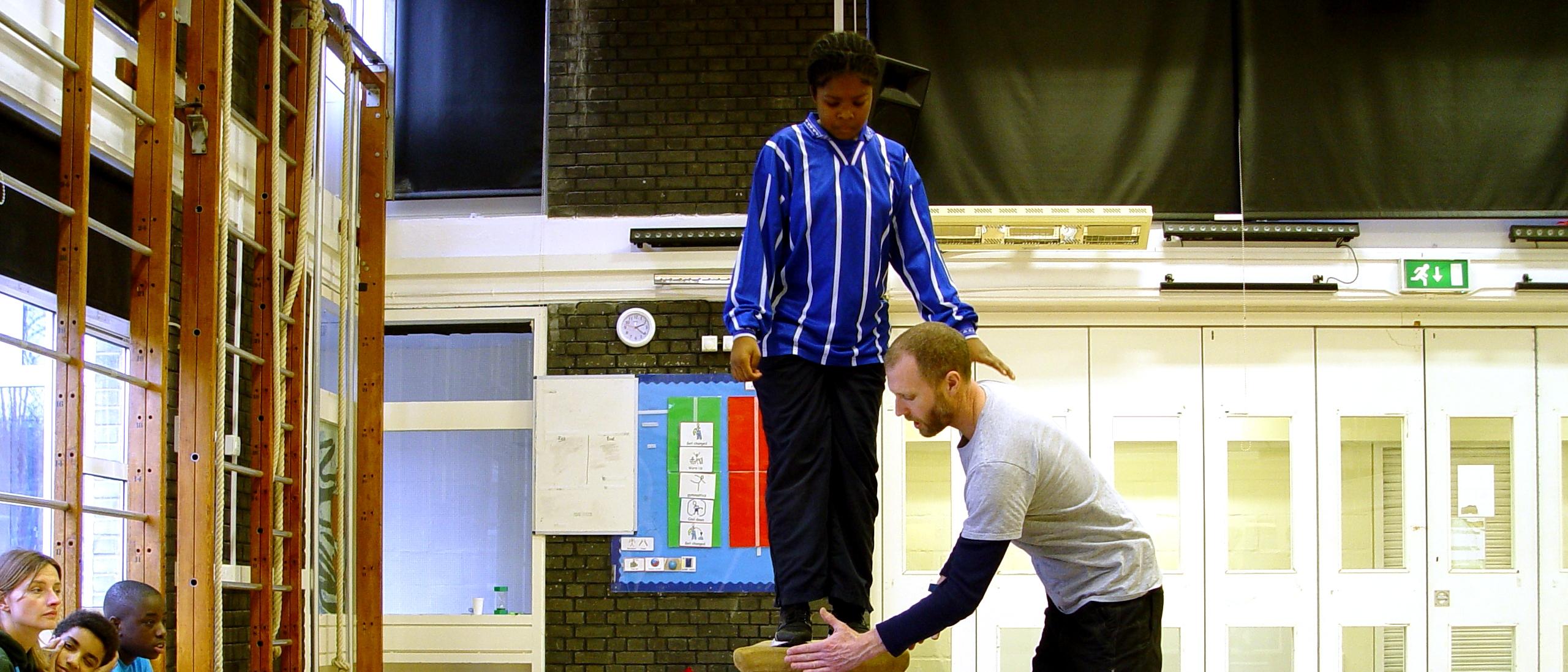 Class 8CM Gymnastics Skills