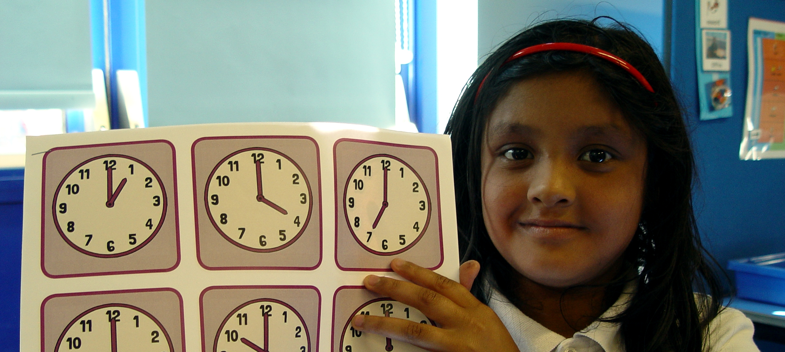 Telling the time in Lime Class