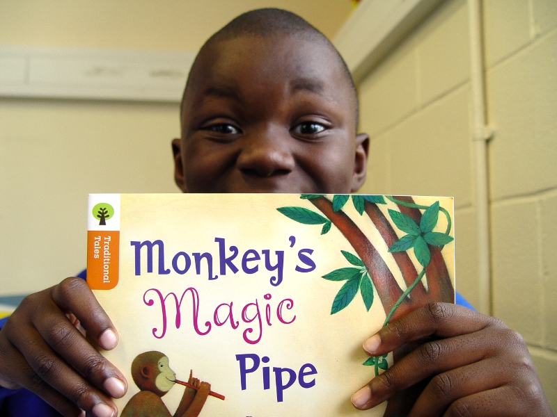 Yellow Class Read Monkey's Magic Pipe – Turney School