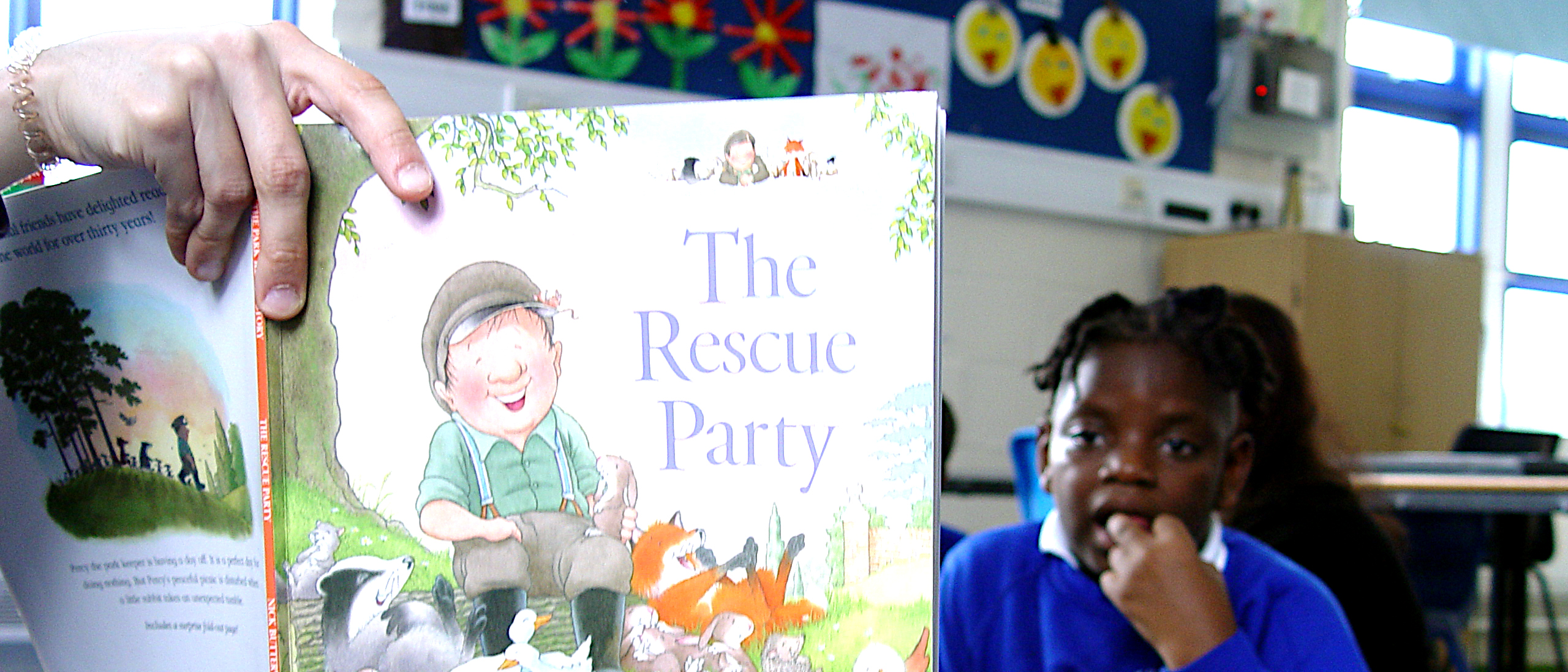 Yellow Class Read The Rescue Party